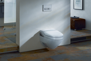 Geberit AquaClean 8000plus, WC - Komplettanlage, UP, Wand-WC, weiß-alpin